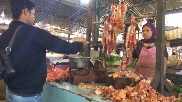 Harga Daging Sapi Kembali Normal di Rembang