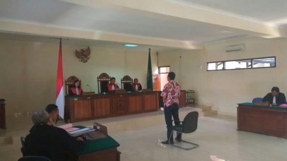 Suryono Divonis Bersalah Lakukan Kekerasan terhadap Wartawan