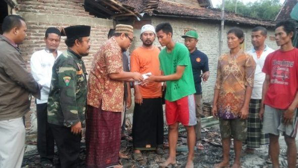 GP Ansor Galang Bantuan bagi Korban Kebakaran