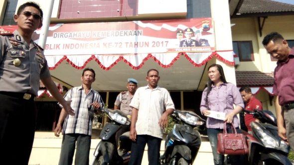 Tujuh Pelaku Curanmor Ditangkap dari Operasi Jaran