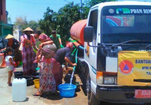 Anggaran Habis, Bantuan Air Bersih Dikaver CSR