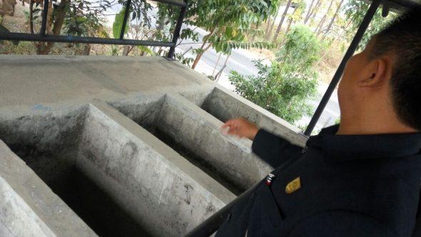Bangunan Instalasi Pengolahan Air Minum Pemerintah Mangkrak