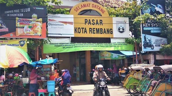 Penataan Pasar Rembang Batal Dilakukan pada 2018