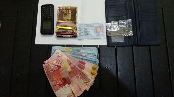 Edarkan Sabu-sabu, Pecatan Polisi Diringkus di SPBU