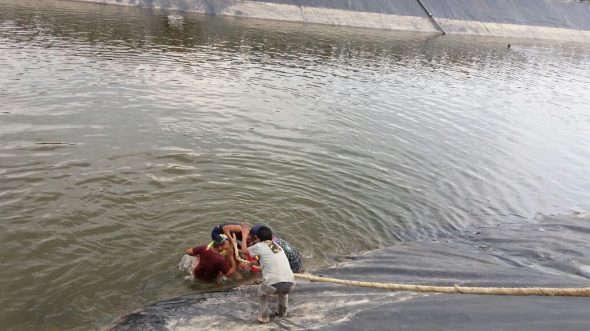 Seorang Bocah Meninggal Tenggelam di Embung Tegaldowo