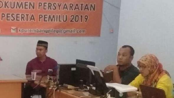 KPU Rembang Menanti Pendaftaran Ulang Sembilan Parpol