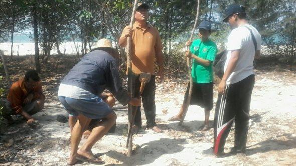 PWI: Jangan Tunggu Pulau Gede Lenyap