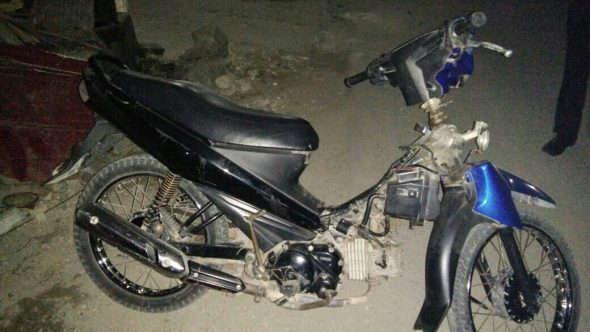 Polisi Bekuk Maling Motor asal Sale
