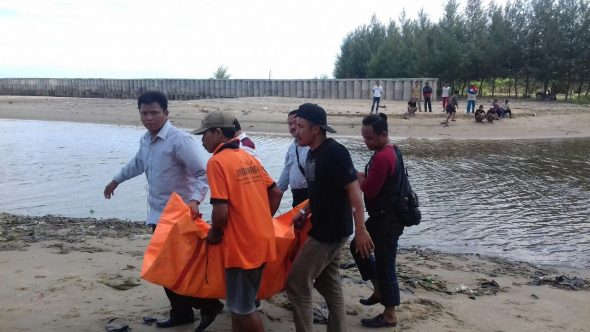 Wanita Lansia Ditemukan Meninggal di Sungai Plawangan