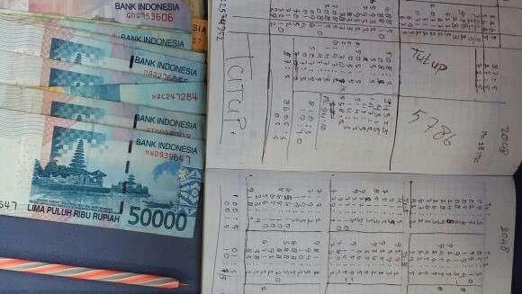 Polisi Tangkap Pejudi saat Transaksi Togel di Warung