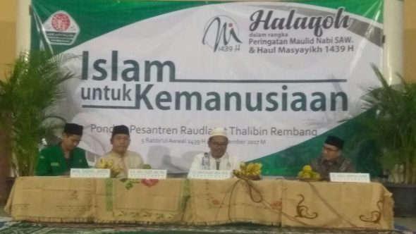"Haul Masyayikh, Pesantren Gus Mus Gelar Halaqah ""Islam untuk Kemanusiaan"""