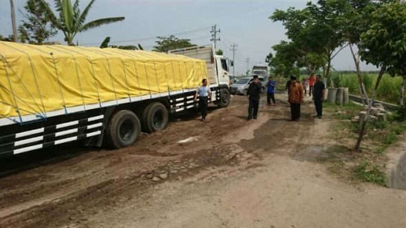 Remuk Lagi, Penanganan Jalan Lingkar Tireman Mendesak
