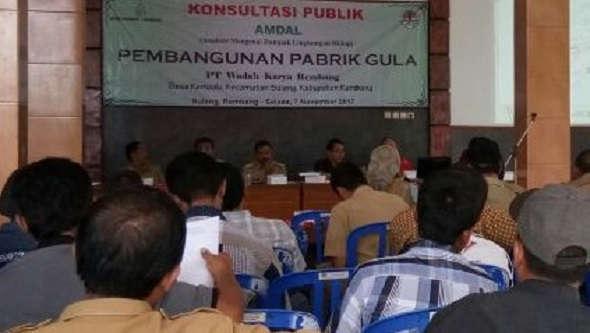 Pabrik Gula Kemadu Ditopang Tebu Empat Kecamatan