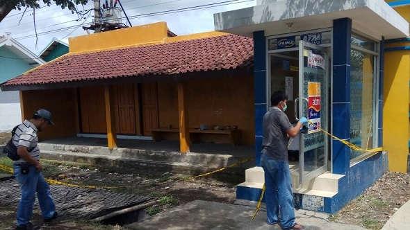 Gerai ATM dekat Mapolsek Kaliori Dibobol Maling
