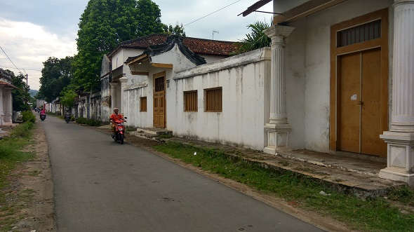 Jumlah Rumah Berlanggam China Kuno di Lasem Semakin Berkurang