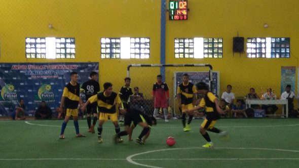 Ansor Sulang Juarai Turnamen Futsal Hanies Cup 2017