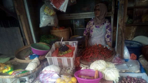 "Akhir Tahun, Harga Cabai Kian ""Pedas"" di Rembang"
