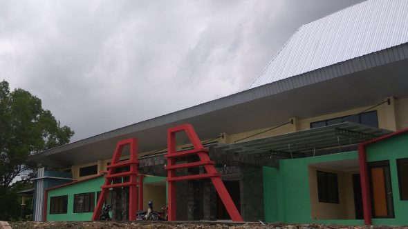 Molor, Proyek Renovasi GOR Rembang Baru Diserahterimakan Hari Ini