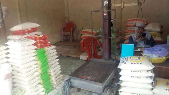 Harga Beras Premium Rp12.000 per Kilogram di Rembang
