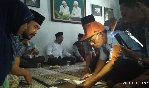 KPU Jateng Dampingi Coklit di Kediaman Gus Mus dan Mbah Maimoen