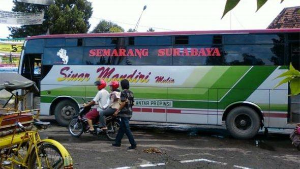 Terjatuh, Penumpang Bus Sinar Mandiri Meninggal Dunia