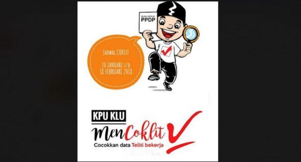 495.993 Data Pemilih Pilgub Jateng di Rembang Dicocokkan Mulai Besok