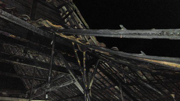 Rumah di Gang Sempit Selatan Pasar Rembang Terbakar