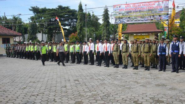 Polisi Kerahkan 550 Personel Amankan Pilgub Jateng di Rembang