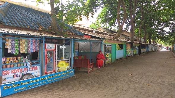 Pedagang di Taman Kartini Enggan Kosongkan Kios