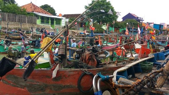 Nelayan Rembang Mengeluh Sepi Ikan
