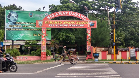 Merugi, Pengelola Kembalikan Taman Kartini ke Pemkab