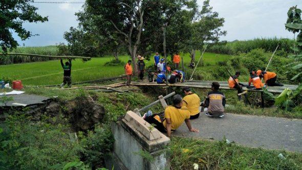 Jembatan Putus Karangsekar-Purworejo akan Diperbaiki Tahun Ini
