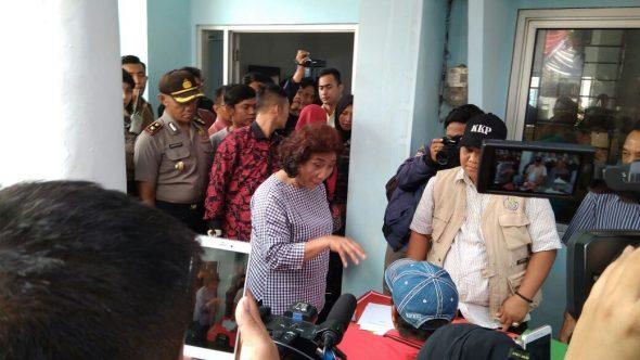 Menteri Susi Tinjau Ukur Ulang Kapal Cantrang di Rembang