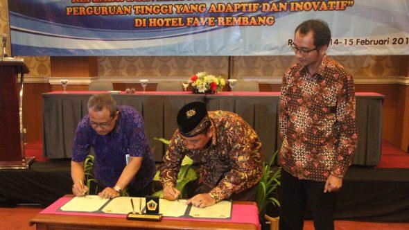 Pemkab Rembang Jalin Kerjasama dengan UMK