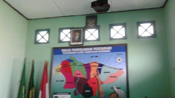 Kantor Balai Penyuluhan Pertanian Sluke Dibobol Maling