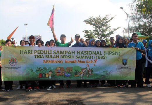 Peringati Hari Peduli Sampah Pemkab Rembang Bentuk Bank Sampah