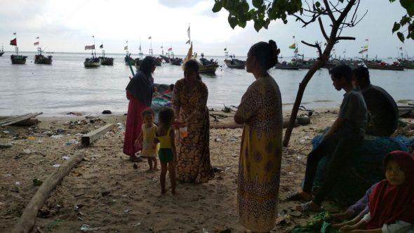 Perahu Ditemukan, Nelayan Kragan Dilaporkan Hilang