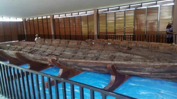 Pascarenovasi, Kunjungan ke Situs Perahu Kuno Masih Sepi