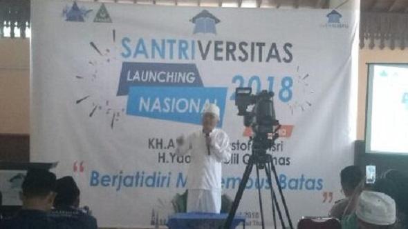 Launching Nasional Santriversitas, Gus Mus Ingatkan soal Niat