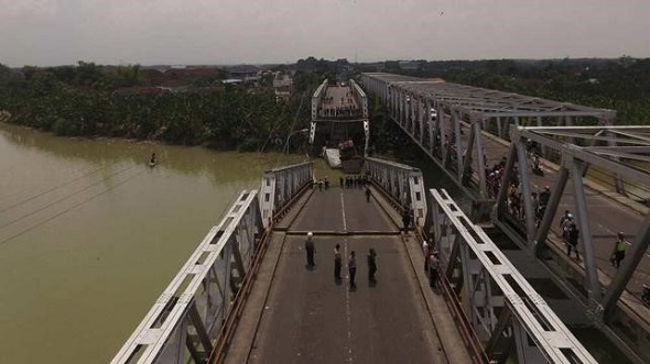 DPRD Minta DPUTaru Cek Jembatan Tua