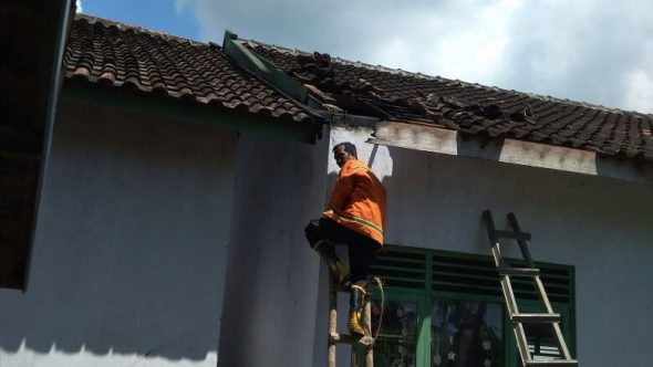 Bangunan SD Negeri Sumbermulyo Sale Terbakar