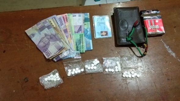 Polisi Tangkap Penjual Pil Koplo Spesialis Arena Dangdutan