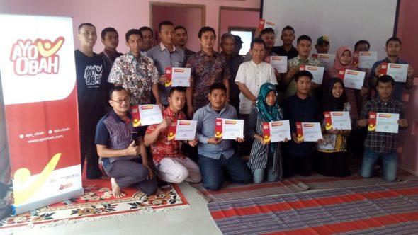 Puluhan Pemuda Rembang Ikuti Gerakan Ayo Obah