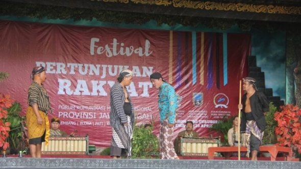 Rembang Tembus Final Festival Pertunjukan Rakyat Jawa Tengah