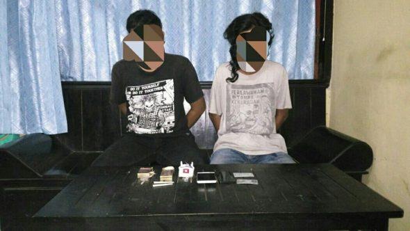 Miliki Sabu dan Ganja, Dua Pemuda Dibekuk