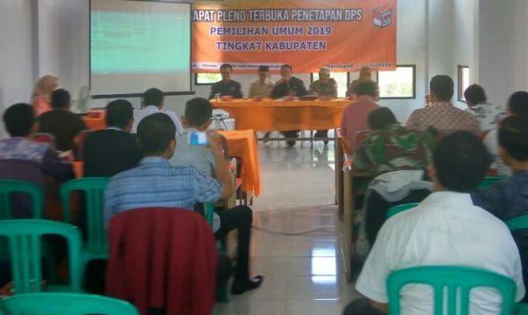 DPS Pemilu 2019 di Rembang 482.788 Pemilih