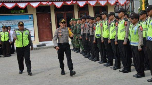 530 Polisi Siap Amankan 1.300 TPS di Rembang