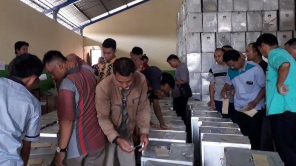 KPU Andalkan Pos Indonesia Distribusi Logistik Pilgub