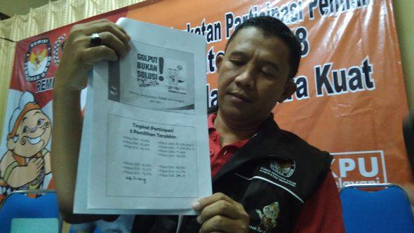 Beban Berat KPU Dongkrak Partisipasi Pemilih Pilgub