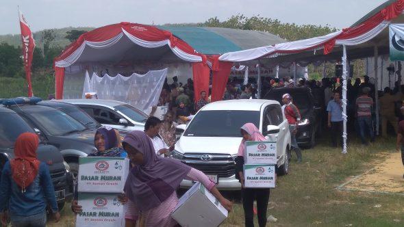 7.000 Paket Sembako Dijual Murah di Rembang